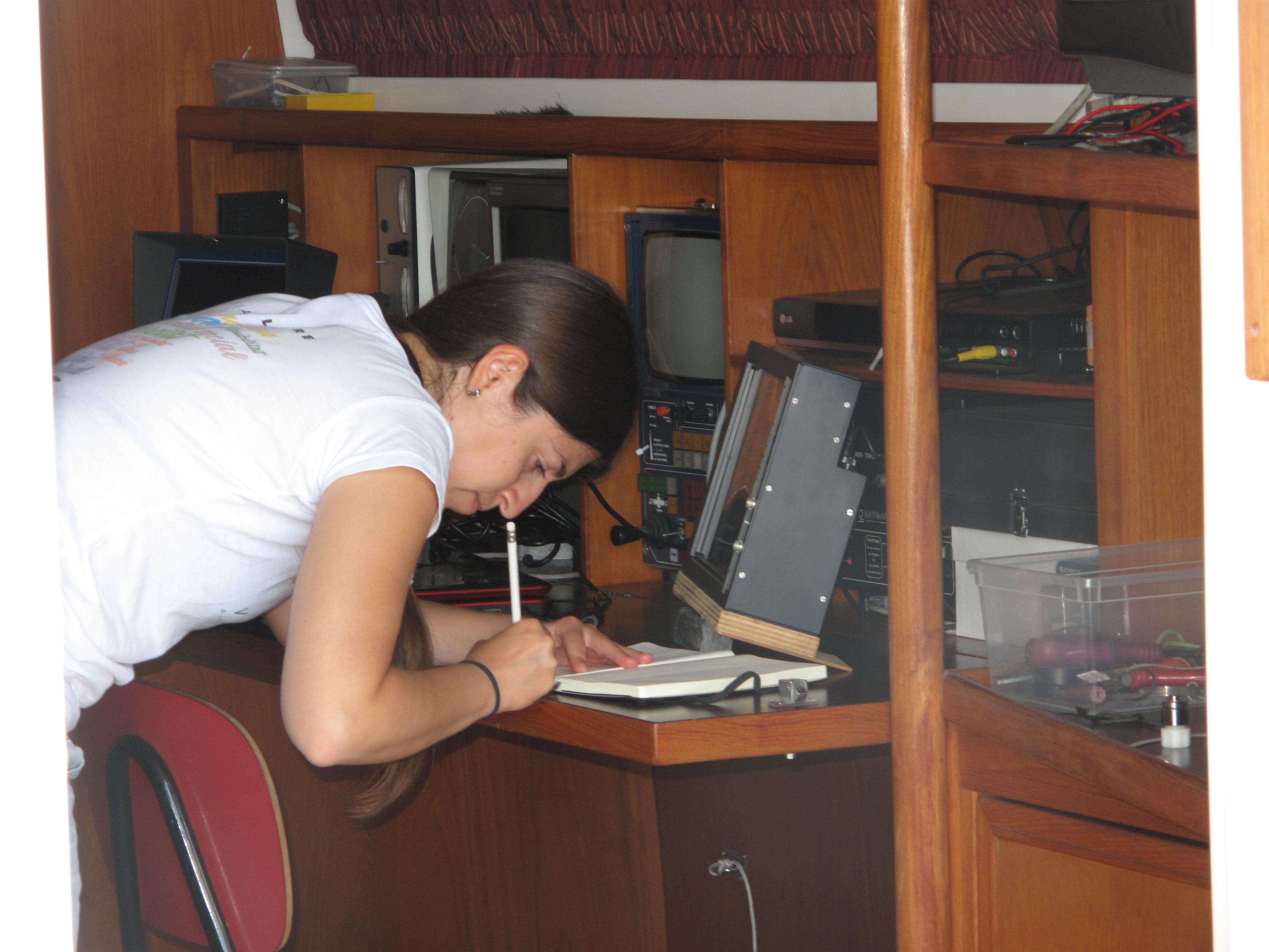 Ligurian 2017 - Working on board